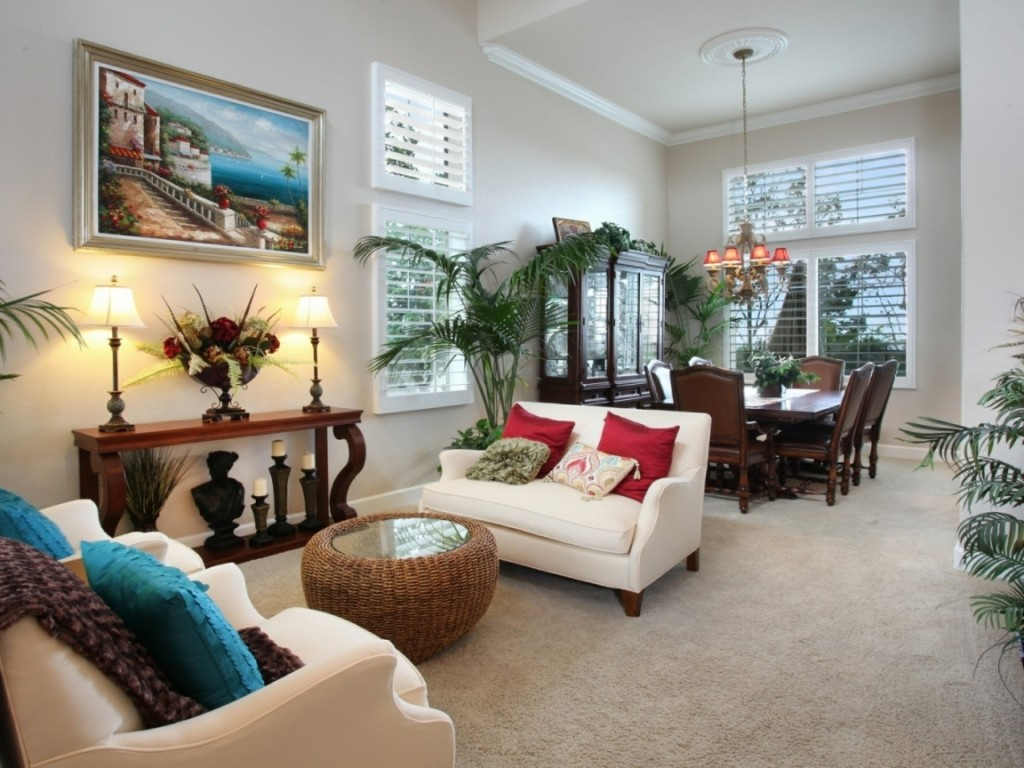 An interior look of a living area of a well decorated house - Shruti Sodhi Interior Designs