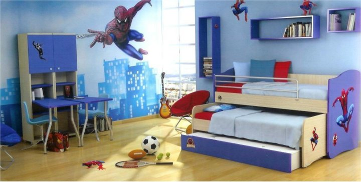 An image showing a beautiful interior designing of a kids' room - Shruti Sodhi Interior Designs