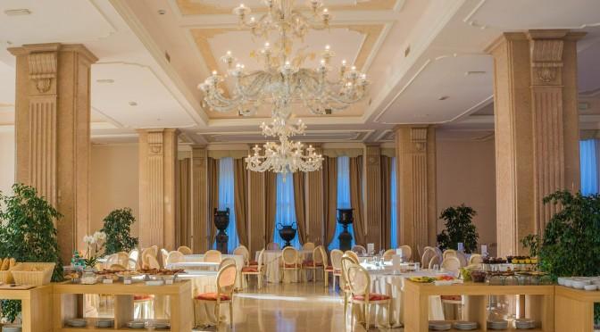 An image depicting beautiful interiors of a hotel - Shruti Sodhi Interior Designs