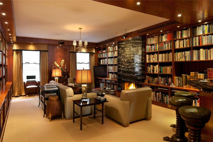 Nice room interiors of a bookworm person - Shruti Sodhi Inteiror Designs