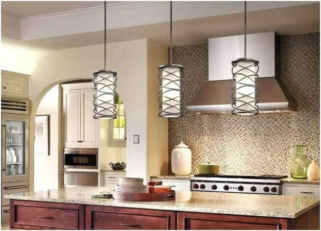 Use of Pendant Lights as a part of attractive Kitchen Interiors - Shruti Sodhi Interior Designs