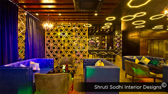 Hotel Interior Design Service for Kapital Bar & Lounge at Mannali Inn