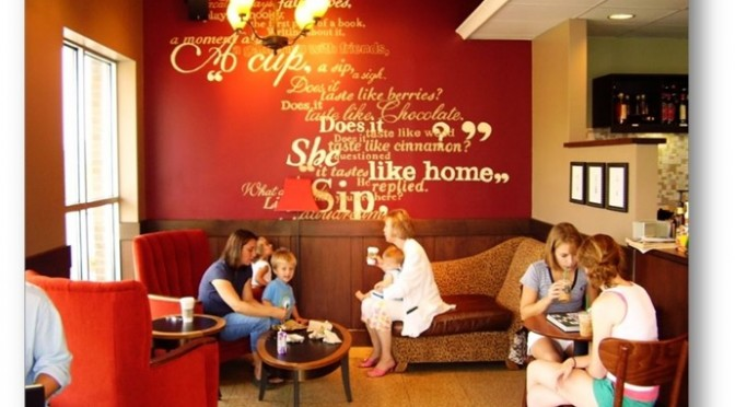 Inspiring quotes for a wall inside a restaurant - Shruti Sodhi Interior Designs