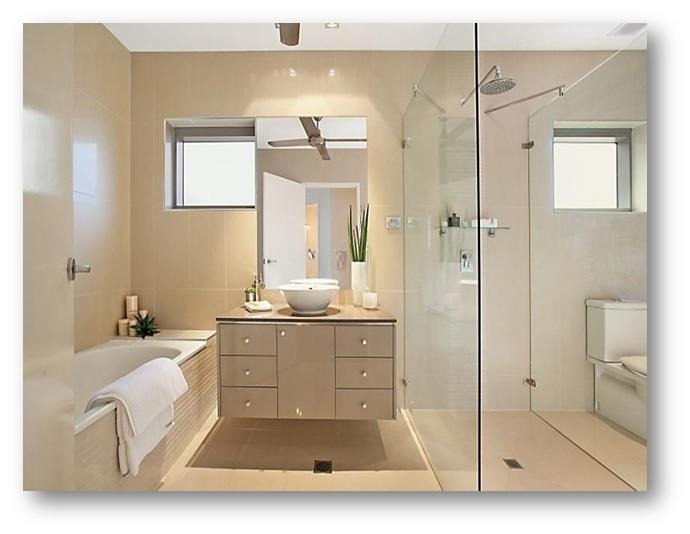 Beige Colour Bathroom Interiors - Shruti Sodhi Interior Designs