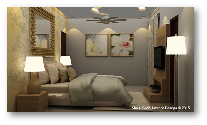 Home Interiors with Image for Focal Point of Attraction - Shruti Sodhi Interior Designs