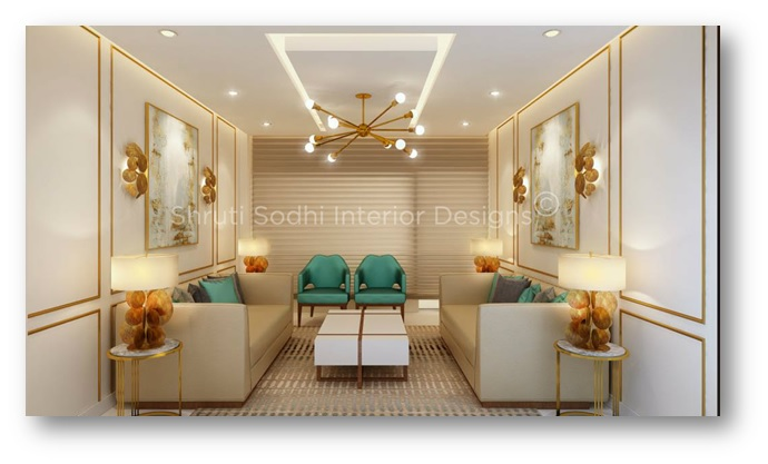 Home interiors with simple objects - Shruti Sodhi Interior Designs
