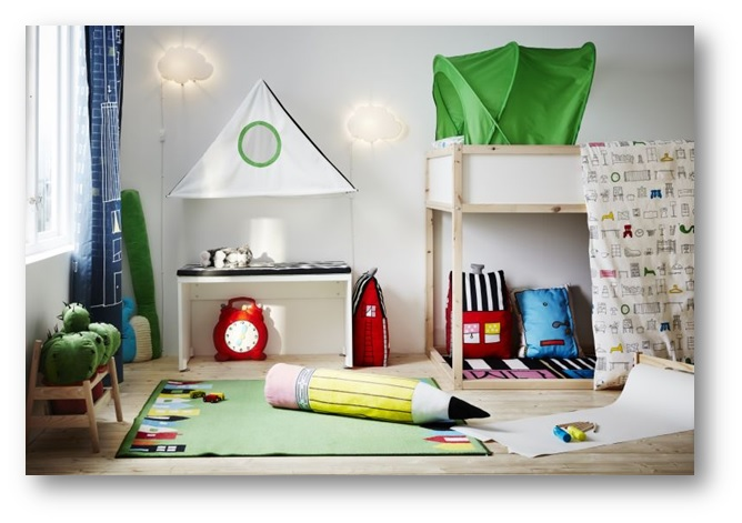 Self customized kids playroom decoration - SSID