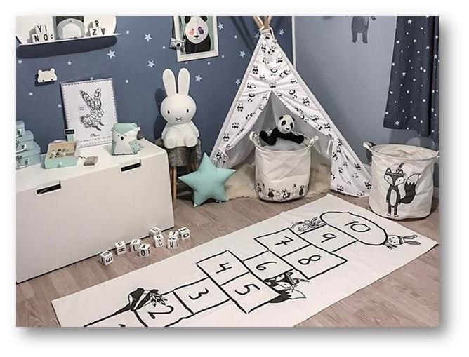 Practical flooring in your kid's room - SSID
