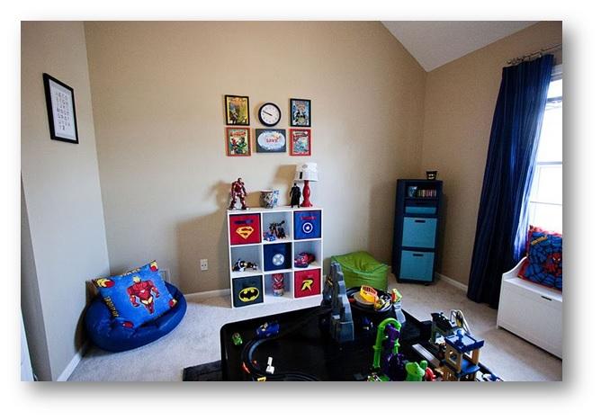 A playroom fulfilling kids wish-list - SSID