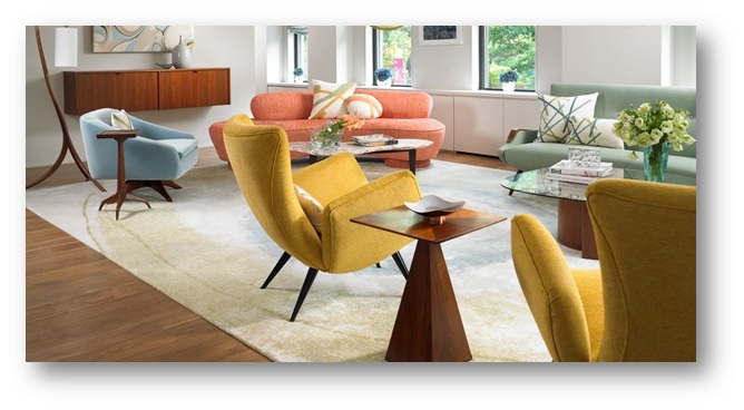 Furniture arranged in a large living room - SSID