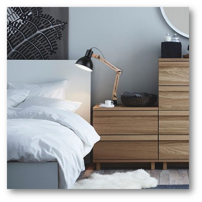 Bedside drawers or cabinets for placing bedtime stuffs - SSID