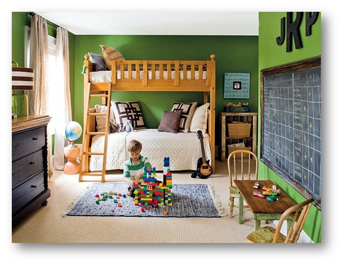 A kids room with space for their creativity - SSID