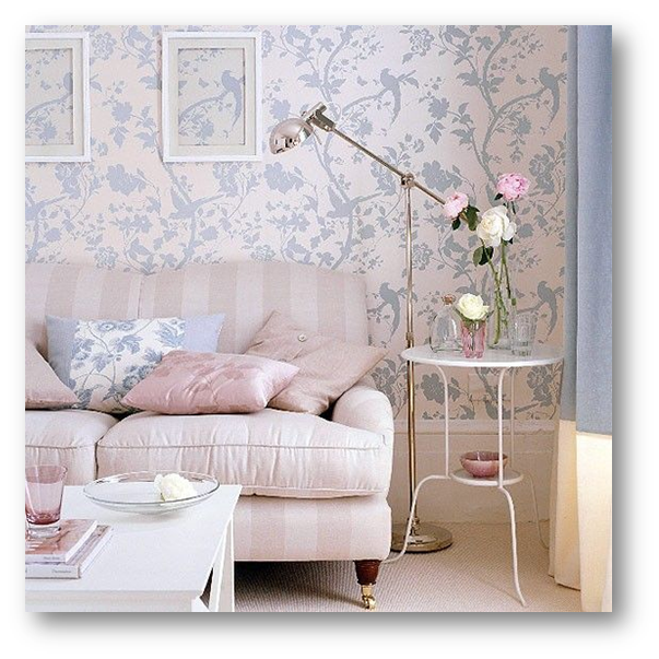 Pastel Colour used in Vintage Style Decorated Room - SSID