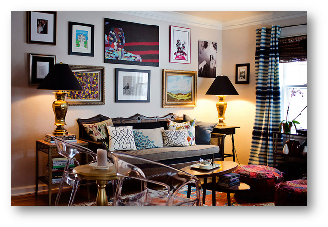 Use of some antique pieces for a vintage interior theme - SSID
