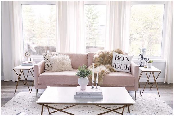 Pink Furniture Set for Home - SSID