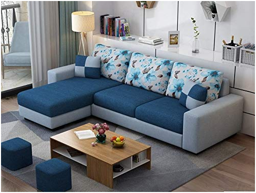 Furniture with Bluish Tone - Furniture Colour Trends 2021 by SSID