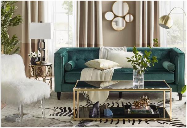 Green furniture - Furniture Colour Trends 2021