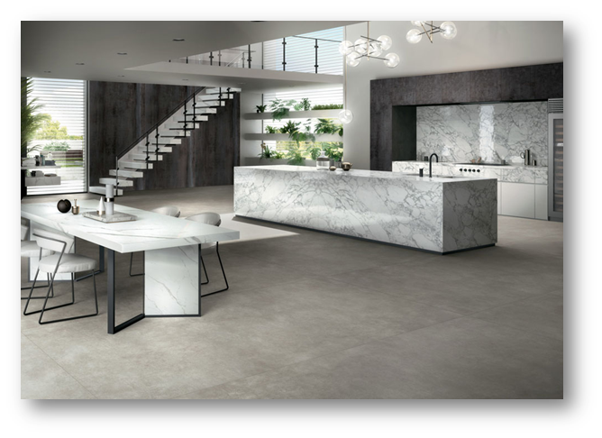 Matte grey for a sophisticated look of concrete flooring - SSID
