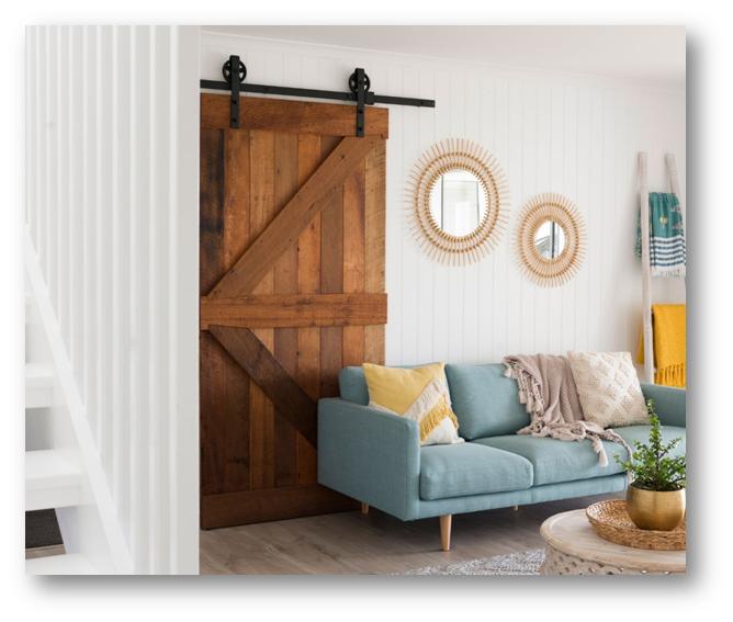 Barn style door - SSID