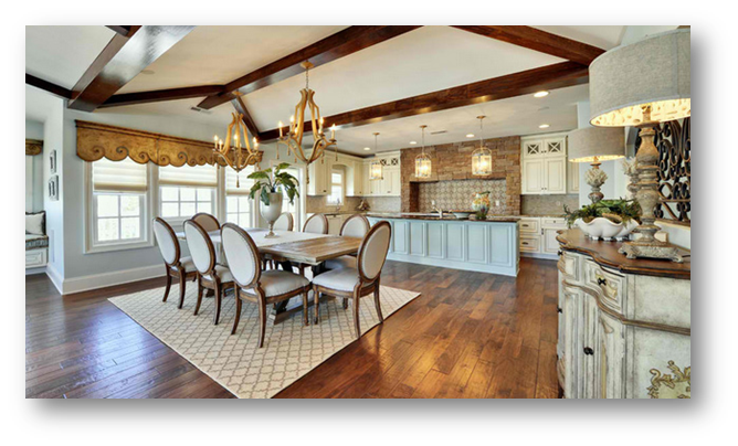 A classic vintage dining room - SSID