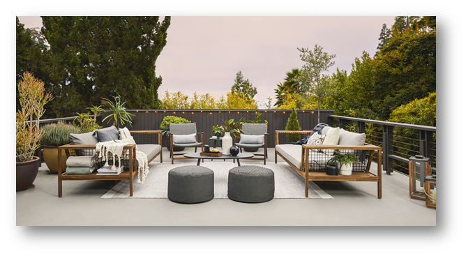 Scandinavian themes based outdoor furniture - SSID