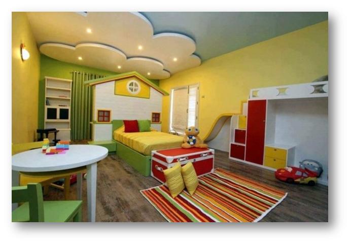 False ceiling for kid's room
