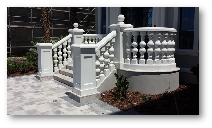 Concrete balustrade - SSID